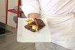Brochettes de fruits frais au pain d'épice perdu
