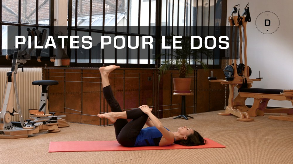 pilates pour le dos exercices de pilates pour renforcer son dos une vid o forme doctissimo. Black Bedroom Furniture Sets. Home Design Ideas