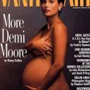 Nue et enceinte - Demi Moore