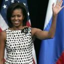 Michelle Obama : le carré lisse