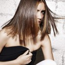 Modèle coupe cheveux mi-longs été 2015 Jean Louis David