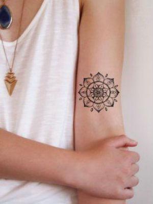 Tatouage bras le tatouage mandala au milieu du bras diaporama beaut doctissimo - Tatouage mandala bras ...