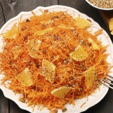 Salade de carottes aux noisettes