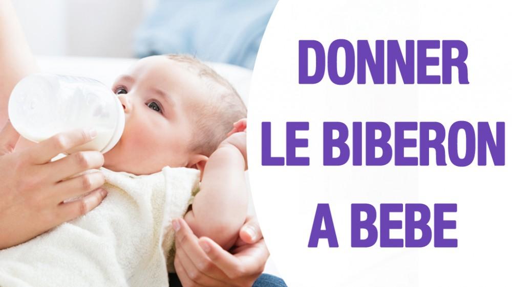 Biberon de b b comment donner le biberon en vid o une vid o grossesse doctissimo - Donner des meubles a une association ...