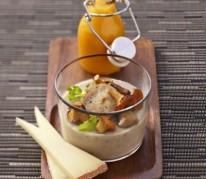 creme-de-champignon-appenzeller-et-veloute-de-potiron