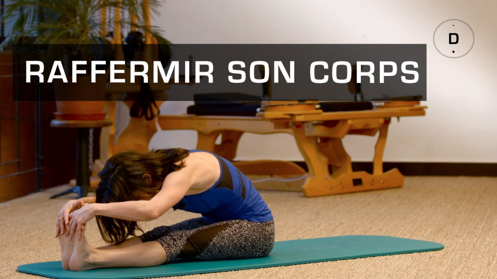 exercices de pilates pour raffermir son corps une vid o forme doctissimo. Black Bedroom Furniture Sets. Home Design Ideas