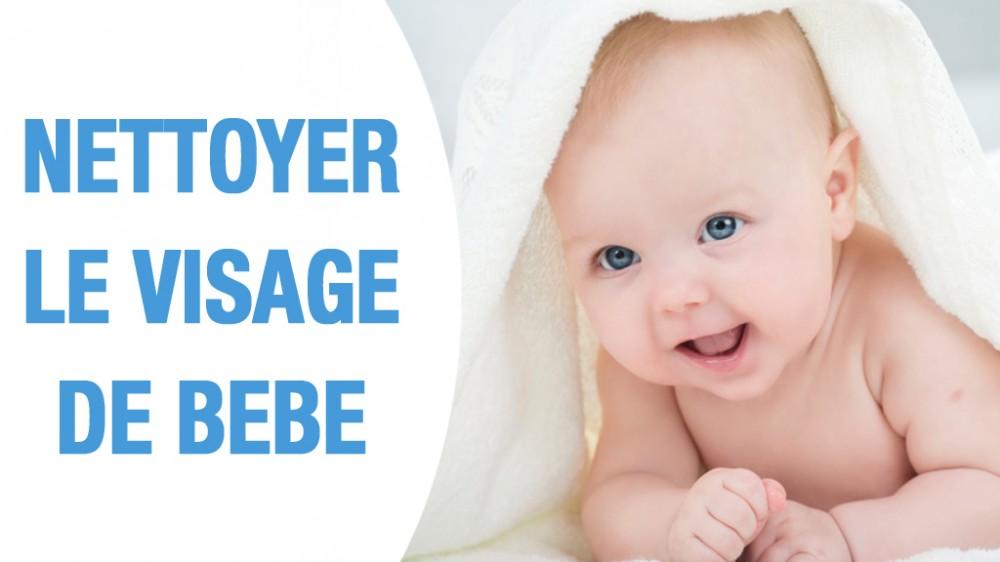 yeux nez oreilles bien nettoyer le visage de b b en vid o une vid o grossesse doctissimo. Black Bedroom Furniture Sets. Home Design Ideas