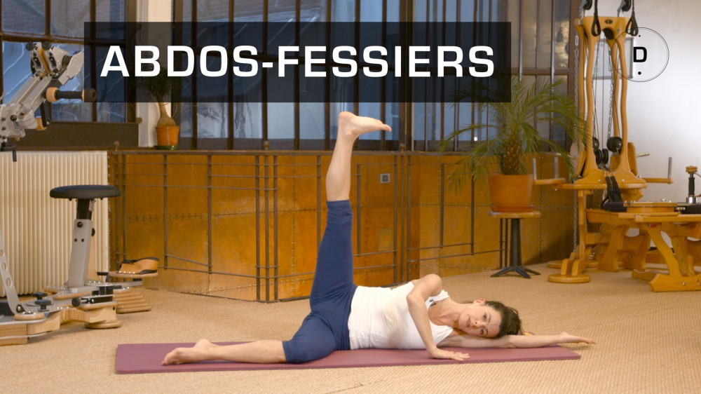 pilates abdos fessiers exercices de pilates pour se muscler une vid o forme doctissimo. Black Bedroom Furniture Sets. Home Design Ideas