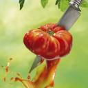Hubert TAILLARD - J'ai descendu dans mon jardin... Un coeur de boeuf avec le couteau d'Alfred2
