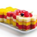 PICARD-Bûche glacée Fruits Rouges
