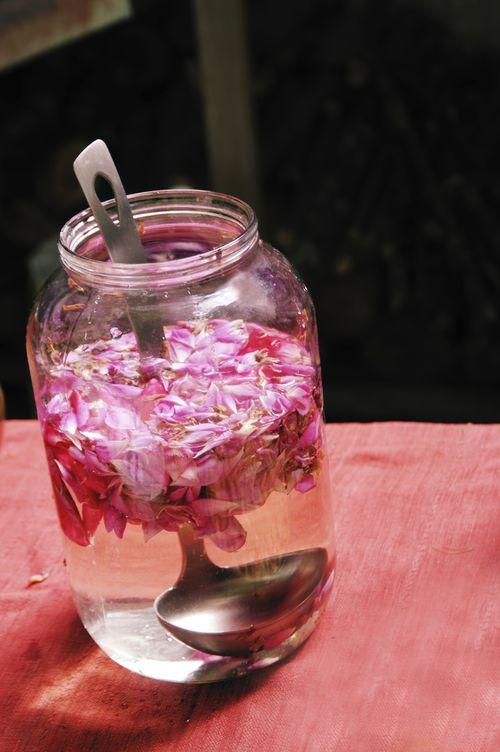 Un cataplasme d eau de rose et d huile essentielle de for Vinaigre et huile essentielle