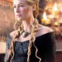 Chignon tresses Cersei Lannister