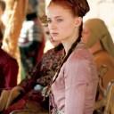 Coiffure médiévale Sansa Stark