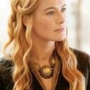 Coiffure romantique Cersei Lannister