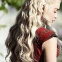 Coiffure romantique Daenerys Targaryen