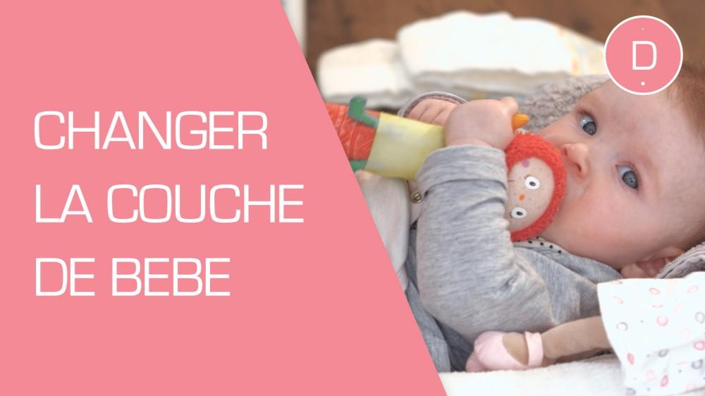 Comment changer la couche de b b une vid o grossesse - Comment fonctionne les couches lavables ...