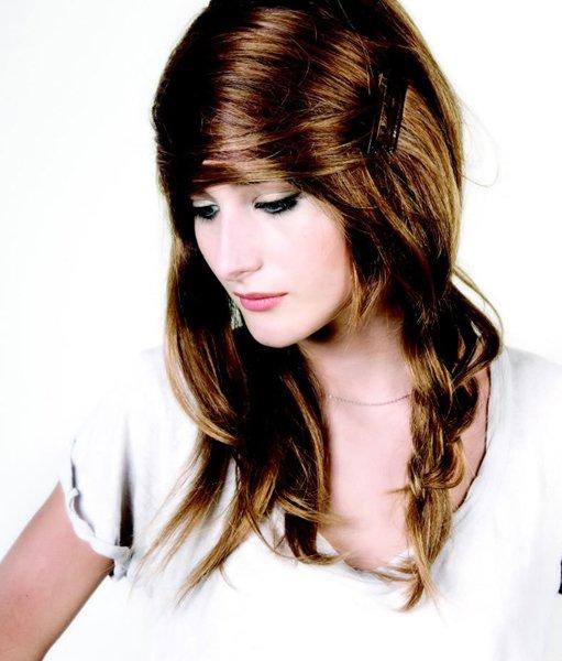cheveux longs coiffure tendance 2012