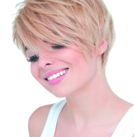 Carr d grad blond printemps t 2015 biguine diaporama beaut doctissimo - Carre blond degrade ...