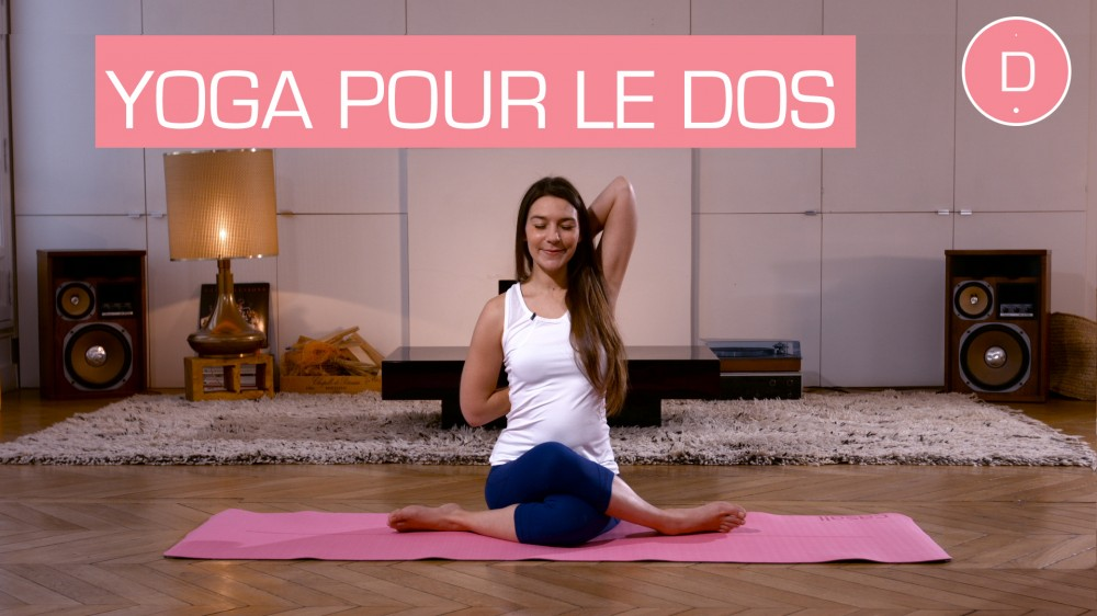 yoga pr natal mal de dos pendant la grossesse une vid o grossesse doctissimo. Black Bedroom Furniture Sets. Home Design Ideas