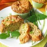 Petits muffins au thon et à la ciboulette