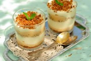 Triffle croquant abricot/romarin