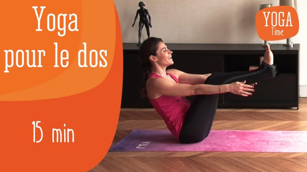 yoga pour le dos seance de yoga pour tirer le dos une vid o forme doctissimo. Black Bedroom Furniture Sets. Home Design Ideas