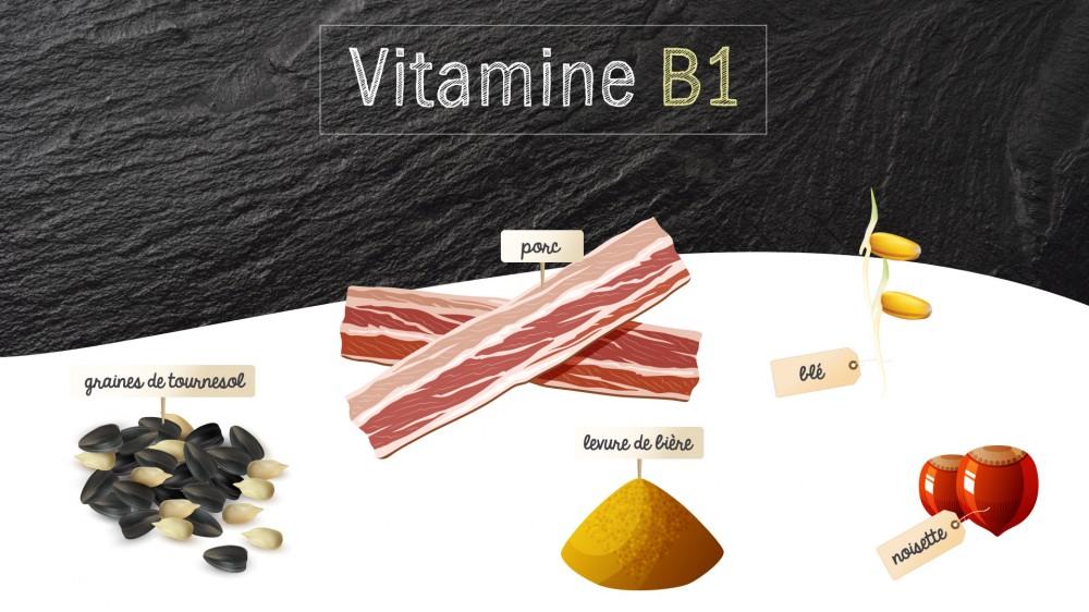 Vitamine b1 ou thiamine quels sont les aliments riches en vitamine b1 une vid o nutrition - A quoi sert le magnesium ...
