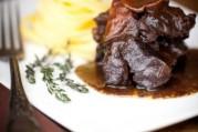 Joues de bœuf aux tagliatelles fraîches