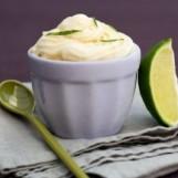 Glace maison au yaourt romarin-citron