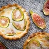 Tartelettes aux figues et au mascarpone