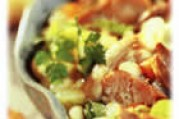 Garbure de légumes printaniers