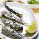 Las sardinas en conserva