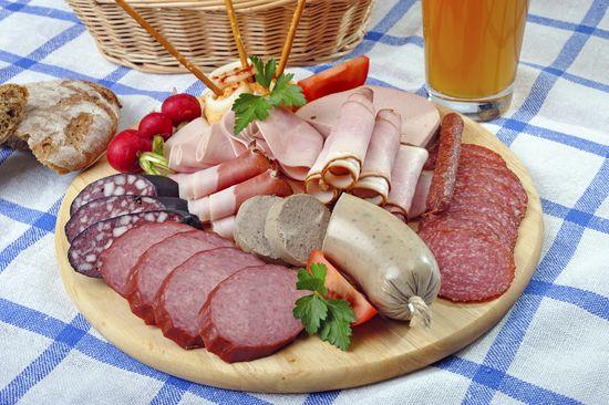 Aliments riches en cholest rol la charcuterie diaporama nutrition doctissimo - Aliment riche en calorie ...