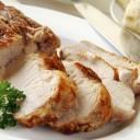La carne semigrasa de cerdo