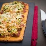 Pizza thon-courgette
