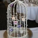 Centre de table mariage bougies