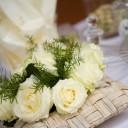 Centre de table mariage naturel