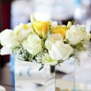 Vase centre de table mariage