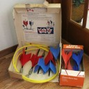19-lawn darts missile game