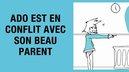 ado conflit beau parent