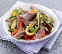 salade-de-confit-de-canard-aux-legumes-grilles