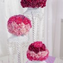 Composition florale pour centre de table mariage