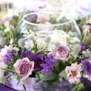 Centre de table floral mariage