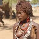 Danse suggestive chez les Noubas, au sud du Soudan