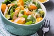 Salade de crevettes pimentée aux abricots