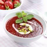 Soupe de fruits rouges au citron