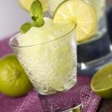 Granité au citron et à la menthe