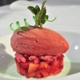 fraise-en-brunoise-et-en-sorbet-coulis-de-coco-a-la-verveine