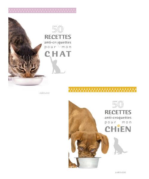 Recettes chien et chat 50 recettes anti croquettes pour mon chat 50 recettes anti croquettes - Croquette pour chien fait maison ...