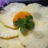 Carpaccio d'ananas